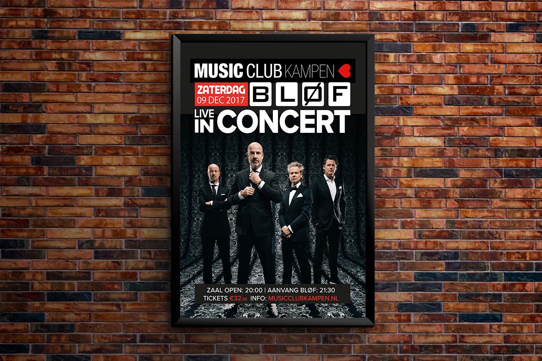 Music Club Kampen_Poster