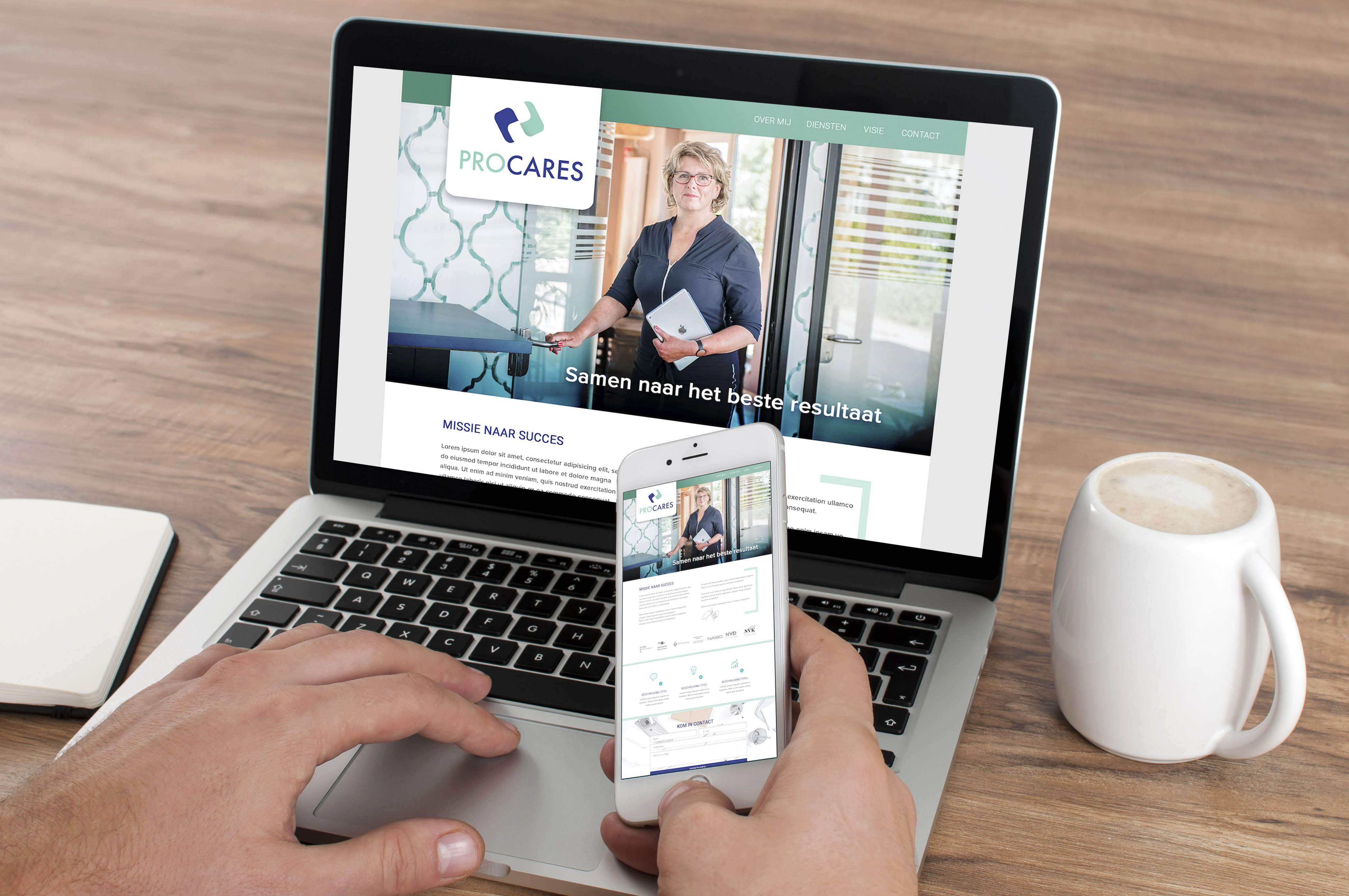 Procares-Webdesign